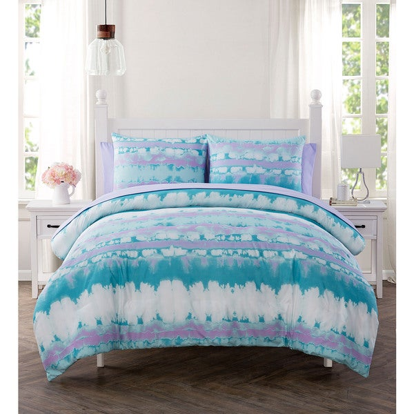 VCNY Home Pink Lemonade 7-piece Bed in a Bag Set