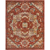 Colonial Home Vintage Medallion Area Rug (7'10 x 10'3)