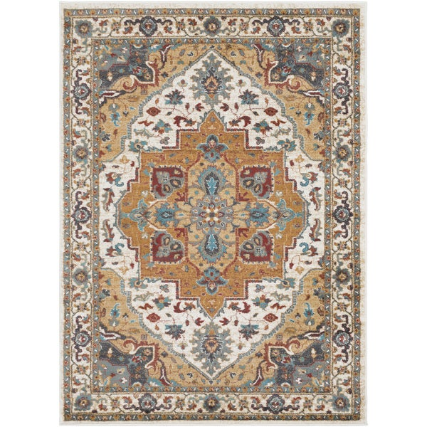 Colonial Home Vintage Medallion Area Rug (2' x 3')