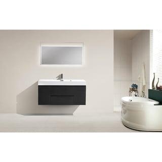 Moreno MOF 48-inch Wall Mounted Modern Bathroom Vanity With Reinforced Acrylic Sink