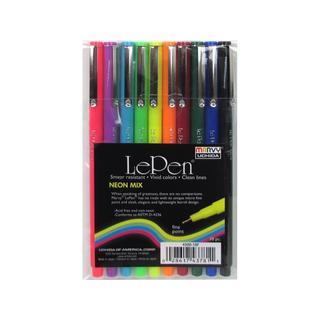 Uchida Le Pen Neon .3-millimeter Sets Neon (10-pice Set)