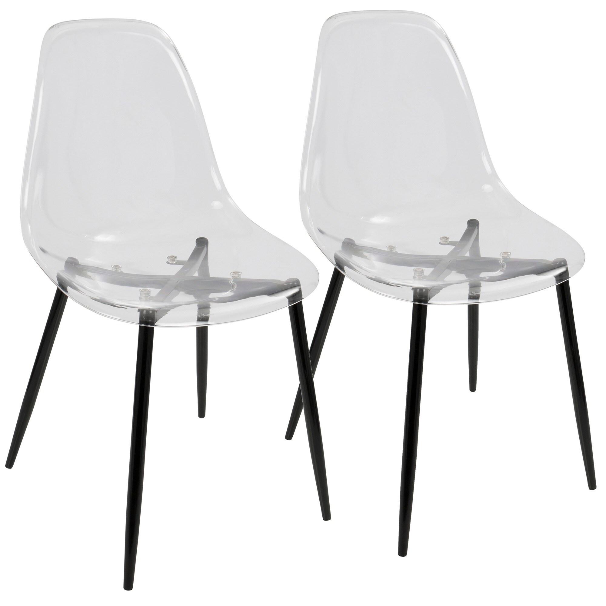 Clara Mid Century Modern Dining Chairs (Set Of 2)