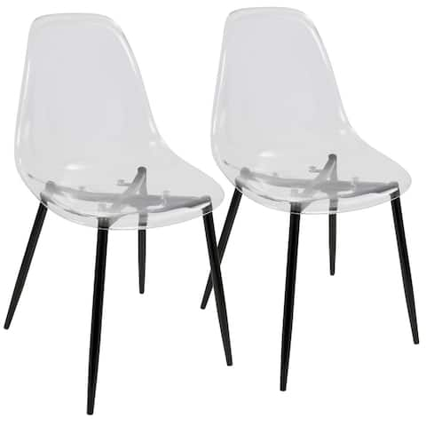 Carson Carrington Dusekarr Mid-century Modern Dining Chairs (Set of 2) - N/A