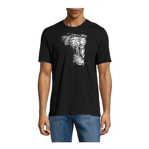 Versace Collection Black Half Medusa T-shirt