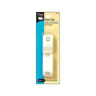 Dritz White 18-inch Snap Tape
