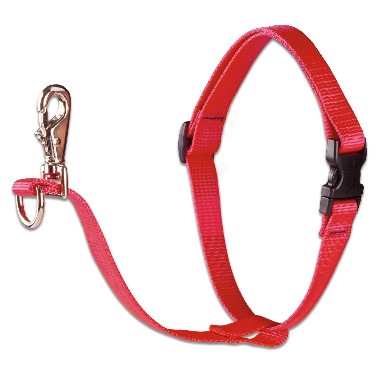 "LUPINE Collars & Leads Red 3/4"" X 14-24"" No Pull Dog Harn..."