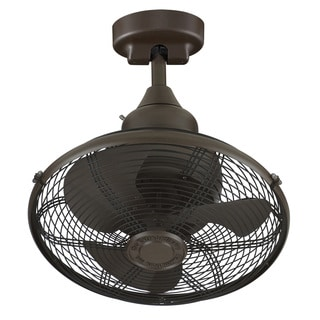 Fanimation Extraordinaire 18-inch Ceiling Fan - Oil-Rubbed Bronze