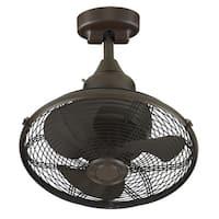 Fanimation Extraordinaire 18-inch Ceiling Fan - Oil-Rubbed Bronze