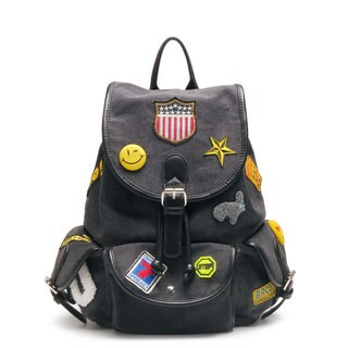 Like Dreams Fly Clique Flapover Buckle Fashion Backpack