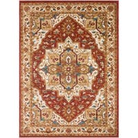 Colonial Home Vintage Medallion Area Rug (5'3 x 7'3)