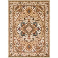 """Colonial Home Vintage Medallion Area Rug - 5'3"""" x 7'3"""""""