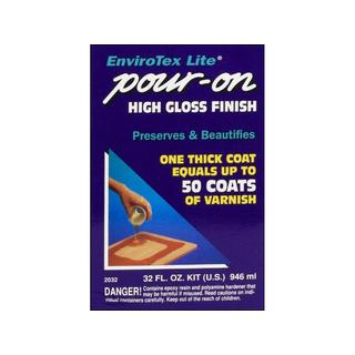 Envirotex Lite Pour On High Gloss 32-ounce Finish