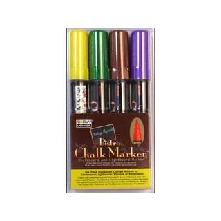 Uchida Bistro Assorted Chalk Markers (Pack of 4)