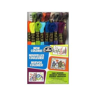 DMC Assorted New Colors Embroidery Floss (Case of 16)