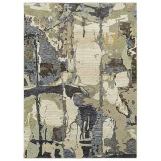 Style Haven Lapis Grigio Blue/Grey Area Rug (8'6 x 11'7)