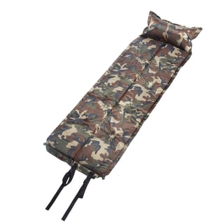 Connectable Self-Inflating Sleeping Pad (Camouflage)