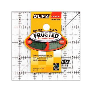 Olfa Frosted Advantage Acrylic Square Ruler