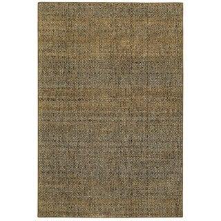 Oliver & James Palsa Golden Textural Area Rug 7'10 x 10'10