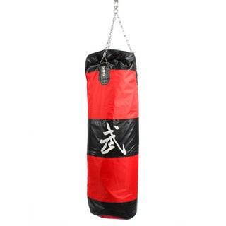 Zooboo Boxing Sanda Hanging Hollow Sandbags Red And Black