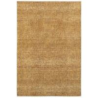 Carson Carrington Rauma Tonal Textures Gold/Yellow Area Rug - 7'10 x 10'10