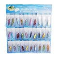 30 PCS Assorted Super Long Short/Sink rapidly Fishing Lures