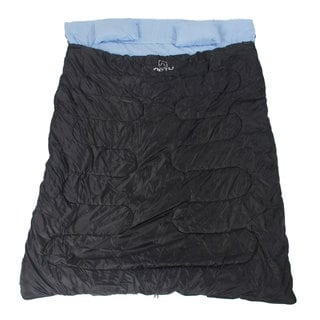 Waterproof Envelope-style Black Double Sleeping Bag