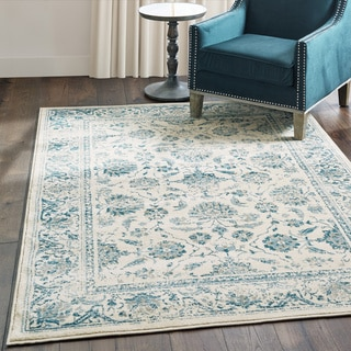 "Gracewood Hollow Strete Ivory/Blue Area Rug - 3'10"" x 5'5"""