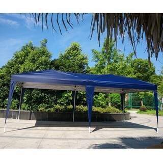 10x20 ft. EZ Pop UP Wedding Party Tent Folding Gazebo Canopy Heavy Duty/ Carry Case