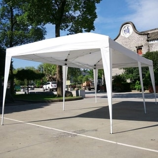 19.6-foot Outdoor Pop Up Canopy Camping Waterproof Folding Tent