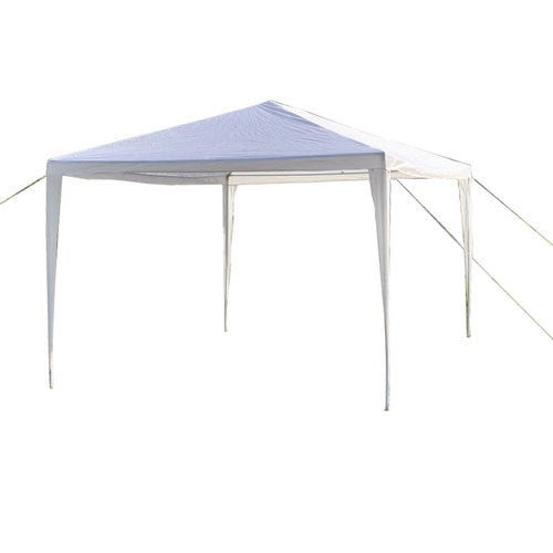 Waterproof Foldable Tent White (3 x 3 m)