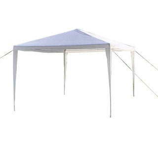 Waterproof Foldable Tent White (3 x 3 m)
