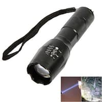 2pcs UltraFire S2 LED 10W 1200 Lumens 500m Focusing White Strong Light Flashlight Black