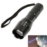 2pcs UltraFire S2 LED 10W 1200 Lumens 500m Focusing White Strong Light Flashlight Black
