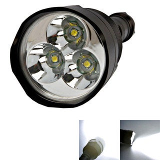 TrustFire 5-Modes 3800LM LED Flashlight Electric Torch Black
