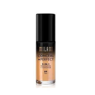 Milani Conceal + Perfect 2-in-1 Foundation + Concealer 09 Tan