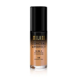 Milani Conceal + Perfect 2-in-1 Foundation + Concealer 10 Golden Tan