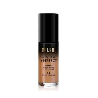 Milani Conceal + Perfect 2-in-1 Foundation + Concealer 12 Spiced Almond