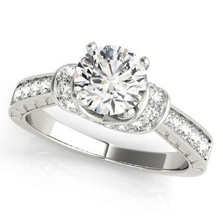 Transcendent Brilliance 14k Gold 1 1/15 TDW Diamond Wrapped Engagement Ring