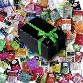 GreenBow Gift Box 90-flavor Bigelow/ Twinin/ Stash Tea Sampler in Gift Box