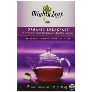 Mighty Leaf Organic Breakfast Tea (15 Tea Bags)