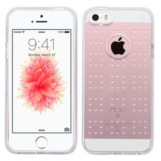 Insten TPU Rubber Candy Skin Case Cover For Apple iPhone 5/ 5S/ SE