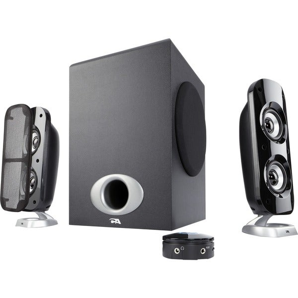 eb9f3943bc6 Cyber Acoustics Power Pro CA-3858BT 2.1 Speaker System - 40 W RMS - Wireless