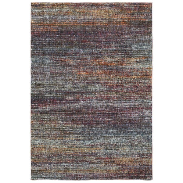 """Style Haven Textural Stripes Multicolored Area Rug (1'10 X 3'2) - 1'10"""" x 3'3"""""""