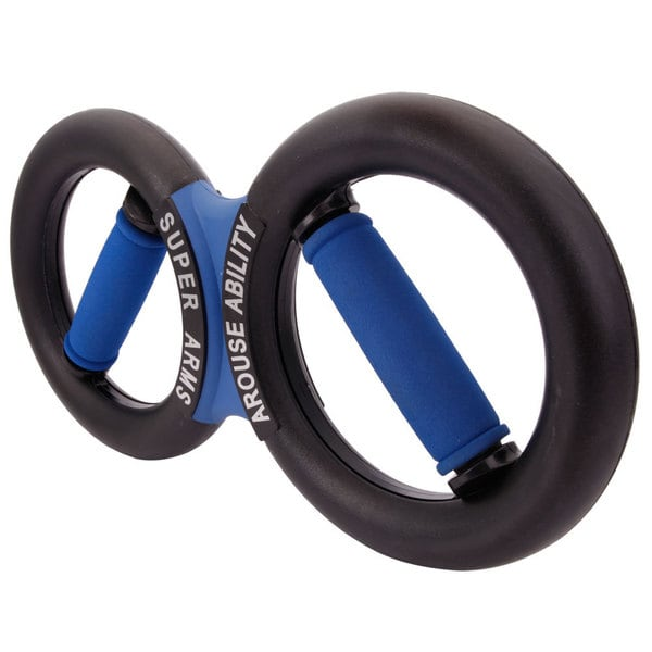 Super Fitness Exercise Black and Blue Wrist Forearm Gripper