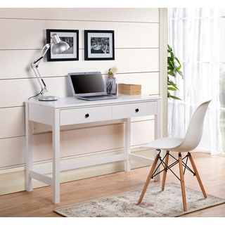 Othello White Particle Board Writing Desk