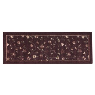 "PHOEBE ACCENT RUG BURGUNDY (22""X60"")"