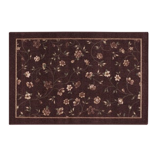 "PHOEBE ACCENT RUG BURGUNDY (20""X34"")"