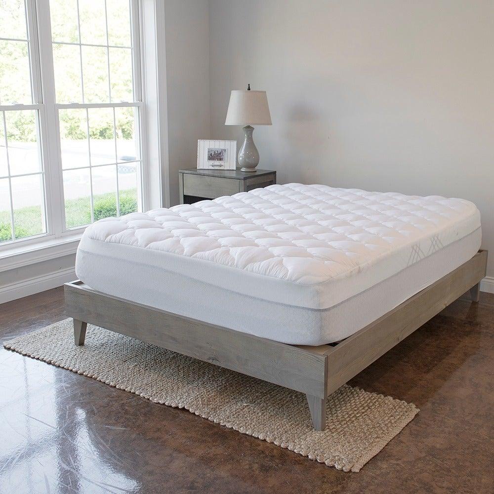 Kotter Home Industrial Barnwood Platform Bed Frame (Full)...