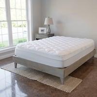 Kotter Home Grey/Brown Barnwood Platform Bed Frame