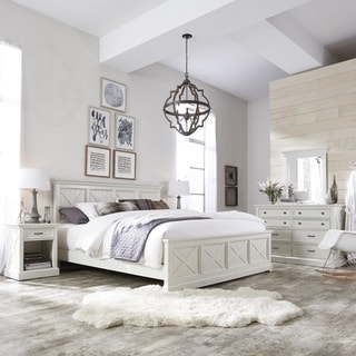 Link to The Gray Barn Riverbone X-detail King Bed Similar Items in Bedroom Furniture